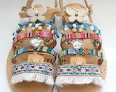 Leather sandals/boho sandals/ WHOLESALE