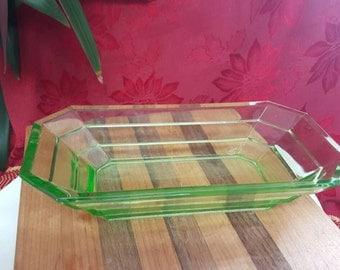 Vintage Glass Dish
