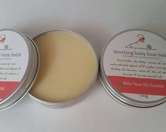 Soothing Baby Bum Balm/ Nappy rash salve. Eczema friendly