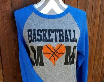 Team Spirit Basketball Mom Shirt, School Shirt, Mom Basketball Shirt