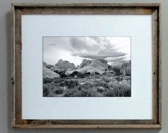 11x14 - Coming Rain - Arches National Park
