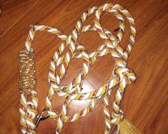 Handmade leashes /horse leads