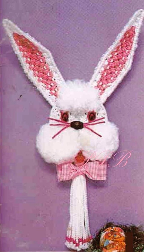 Macrame Bunny Easter Macrame Wall Hanging Home Decor