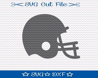 Football Helmet SVG File / SVG Cut File For Silhouette / Sports SVG / Football svg / Super Bowl svg / Superbowl svg