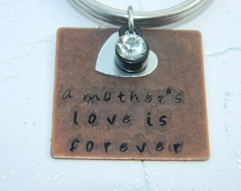A Mother's Love Keychain