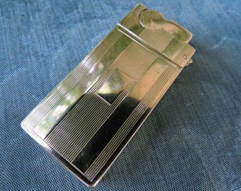 Vintage 1960's A. S. R. Cigarette Lighter - Made in Brooklyn, N.Y.