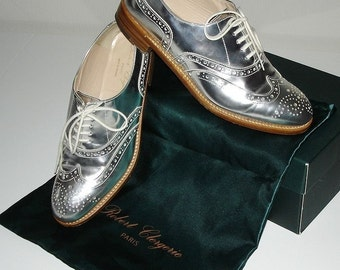 Derby Richelieu ROBERT CLERGERIE Paris size 38 Made in France