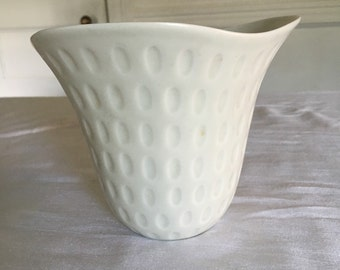 Price cut! Rare Rotstrand Sweden Gunnar Nylund Midcentury Vase in White Porcelain