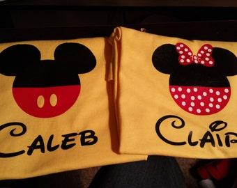 Adult Mickey or Minnie Shirt