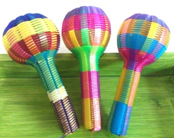 Mexican rattle baby toy, mexican maraca, mexican rattle