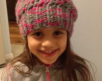 Toddler winter floppy hat