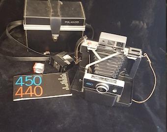 Polaroid 450 camera