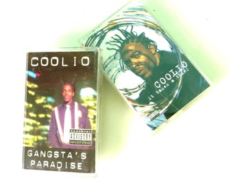 Coolio 2 Cassette Tapes - Gangsta's Paradise and It Takes A Thief