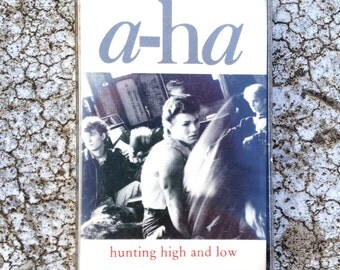 a-ha Hunting High and Low Cassette Tape