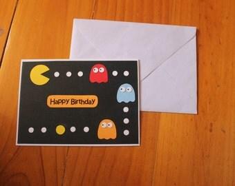 Pacman - Birthday Card