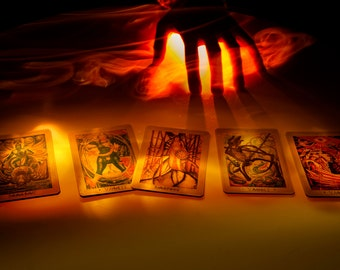 7 card Tarot Reading By Email