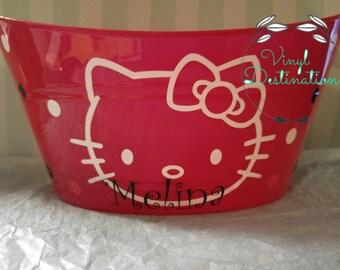 Hello Kitty Bucket