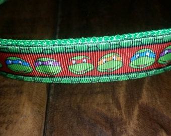 Ninja Turtle Hand Crafted Collar