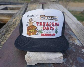 Treasure Days Vintage Trucker Cap