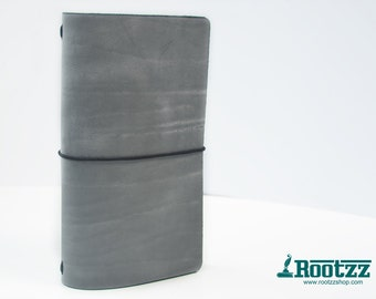 RG XL Traveler's notebook grey - midori like- fauxdori