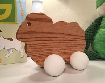 Mother Sheep Wooden Toy