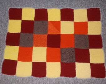Baby blanket, blankie, Playmat, Playmat, baby blanket / ca 70 x 95 cm (ca. 27 x 38 inches)