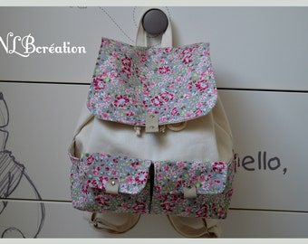 Maternal backpack for daughter Liberty