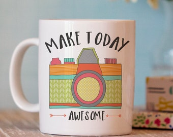 Camera Mug - Photography Mug - Coffee Mug Gift