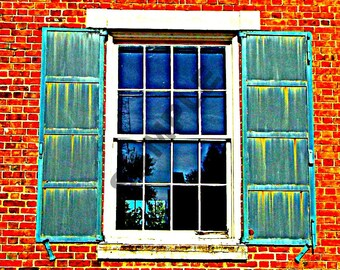 Through the Window Photograph