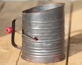 Bromwell's All-American 5 Cup Flour Sifter