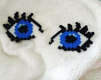 All eyes on U hama beads