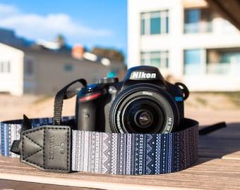 Design Camera Strap for DSLR or SLR camera, DSLR Camera Strap. Camera accessories. Canon camera strap. Nikon camera strap.