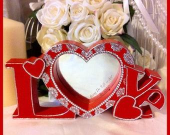 Customised LOVE Photo Frame