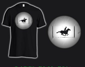 Cool Muybridge T Shirt, just for film buffs!
