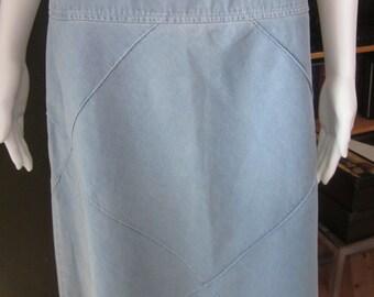 Vintage Jones New York light Jean skirt