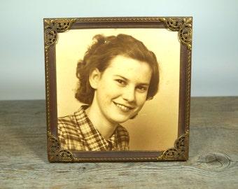 Vintage photo frame,Vintage Picture Frames,Old frames,Old Photographs,Home Decor,Antique photos,Collectibles