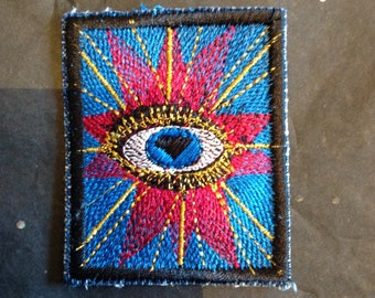 All seeing eye patch.