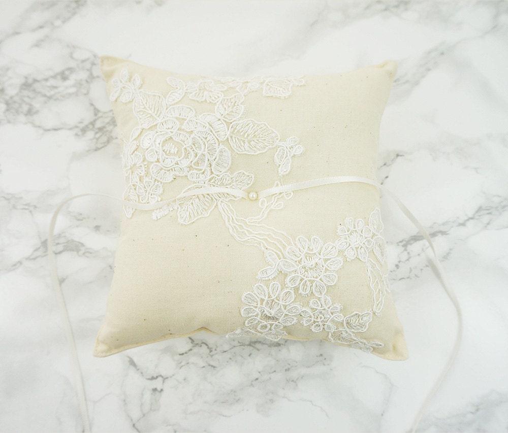 Wedding Ring Pillow Ring Bearer Pillow Wedding Ring Pillow
