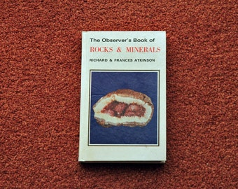 The Observer's Book of Rocks & Minerals - FIRST EDITION