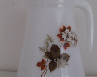 Pitcher arcopal, 70s - Arcopal carafe decanter