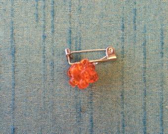 Handmade, lucky ball brooch.