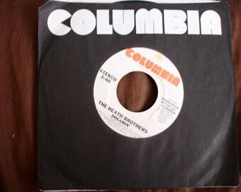 "RARE Heath Brothers -Dreamin'  7"" Vinyl Promo copy 45"