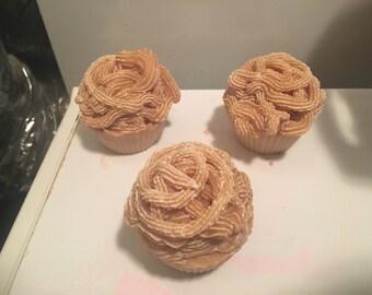 Vanilla Cupcake Soap- Clearance
