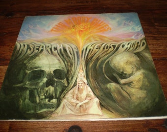 In Search of the lost Chord Vinyl LP,The Moody Blues,Original 1968 British First issue,Lovely condition,DML711