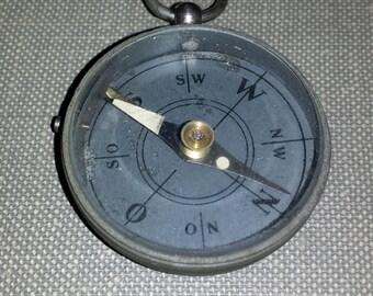 Antique 1910s German Compass, G. Lufft Stuttgart - model 330