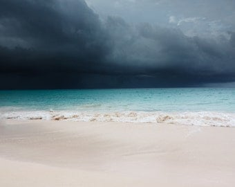 Storm Sky - Seaside Photo - Seascape - Sea - Sea Photo - Beach Photo - Digital Photo - Digital Download - Instant Download - Wall Art