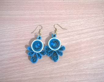 Hand made Quilled earrings