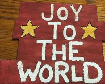 Joy To The World Plaque