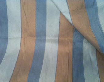 Jim Thompson silk fabric The Thai Silk Collection Stripe Silk fabric 3.2 Yards