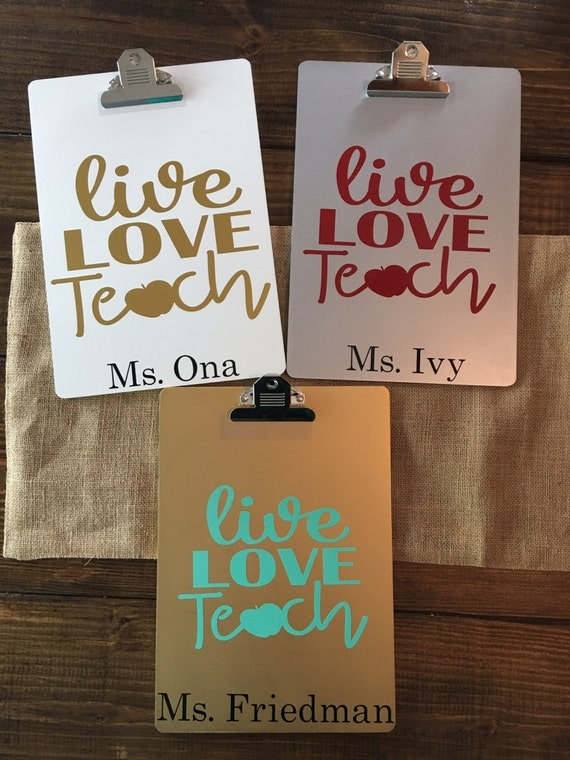 Personalized Clipboards Teacher Gift Coaches By